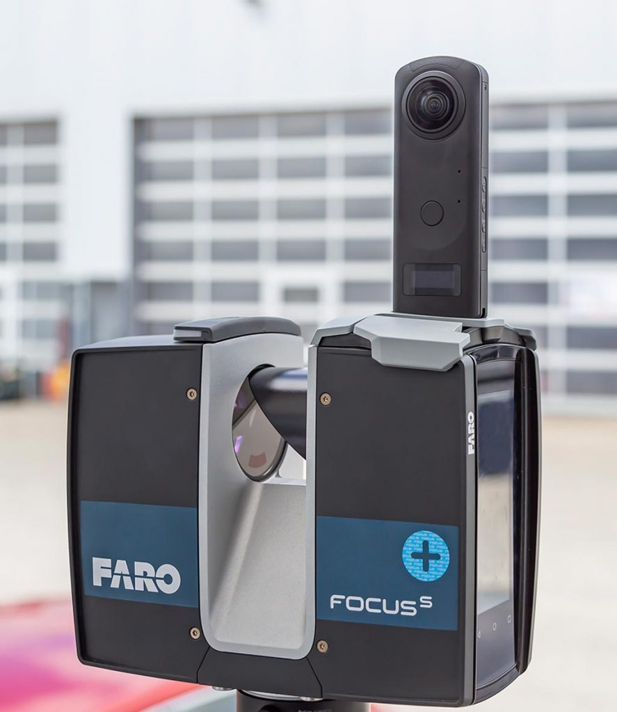 Brandneue PANOCAM macht FARO Scanner zum schnellsten am Markt