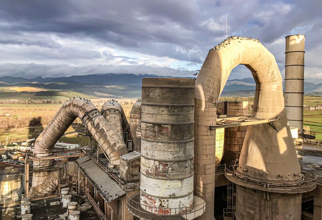 3D CAD Modell eines Wärmetauschers für ein Zementwerk in der Türkei
