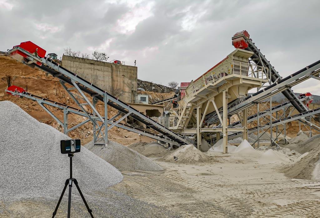 3D-Laserscanning für einen Steinbruch in Bulgarien